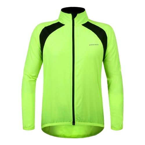 WOSAWE Unisex Radfahren Haut Mantel Jersey Fahrrad Winddicht Regen Mantel Wind Mantel Jacke Regenmantel