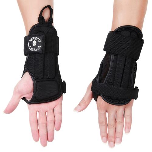 WOSAWE Einstellbare Handgelenkstütze Brace Handschutz Unterstützung Handschlaufe Wraps für Outdoor Sport Fahrrad Radfahren Motorrad Skifahren