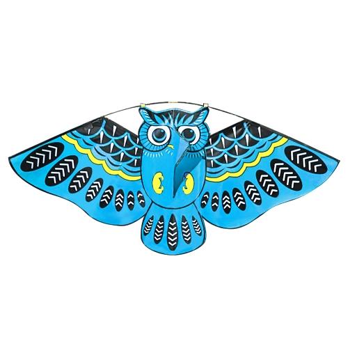 43 х 20 дюймов Красочный мультфильм сова летать кайт с кайт-линии Открытый игрушки для детей