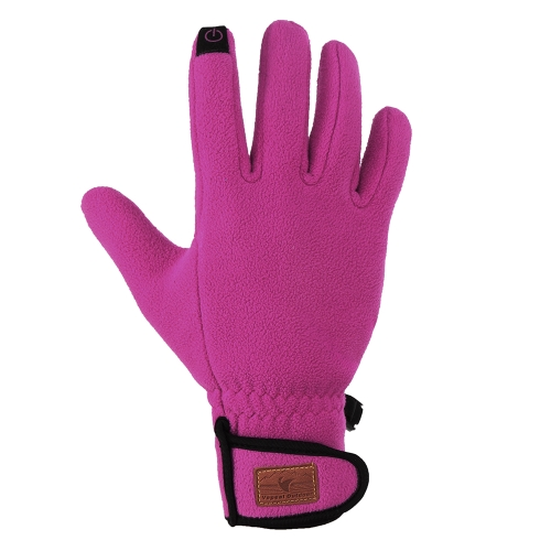 Outdoor Sports Winter Warm Thermal Fleece Gloves Touch Screen Gloves for Men and Women