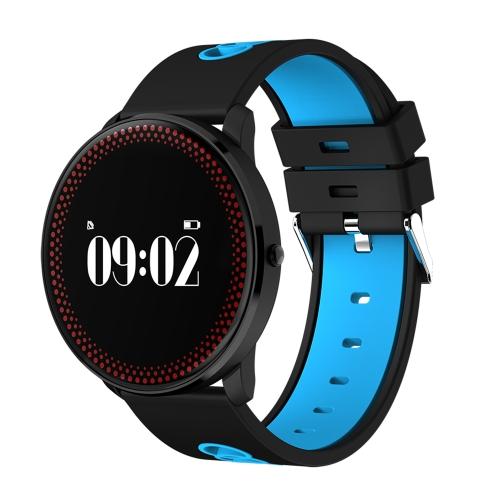Ultra sottile Smart Bracelet Fitness Activity Tracker Sport Smart Watch Banda Pulsante di frequenza cardiaca Pulsante di braccialetto Pedometro Calorie Monitor di sonno bruciato