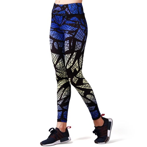Women's Printed Compression Yoga Pants Active Workout Leggings Stretch Tights