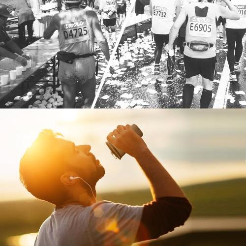 AONIJIE 200ml BPA libre plegable taza de agua suave para deportes al aire libre maratón de ciclismo de funcionamiento de camping