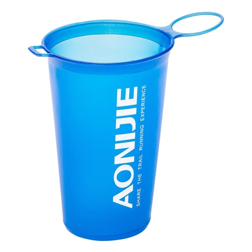 AONIJIE 200ml BPA Free Foldable Soft Water Cup