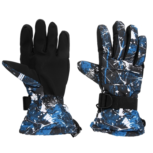 Winter Warm Soft Gloves Windproof Adult Ski Gloves Winter Sports Running Hiking Skiing Mountaineering Cycling Gloves