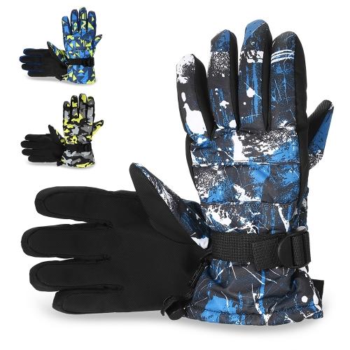 Image of Winter Warme Weiche Handschuhe Winddicht Erwachsene Ski Handschuhe Winter Sport Laufen Wandern Skifahren Bergsteigen Radfahren Handschuhe
