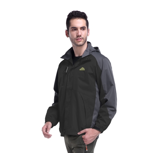 Abrigo impermeable ligero impermeable al aire libre de los hombres Abrigo impermeable frío impermeable al aire libre de los cabrit