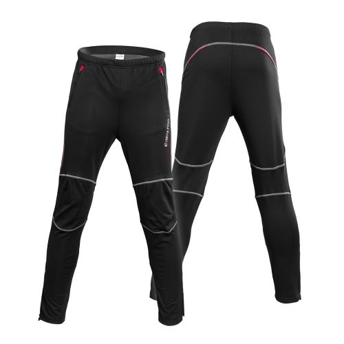 Pantaloni sportivi antisdrucciolevoli degli uomini Pantaloni sportivi invernali Pantaloni sportivi Pantaloni da corsa in bicicletta da bici sportiva esterna