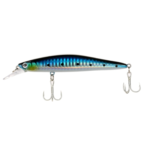 12 cm / 13g Minnow Fishing Lure Esche artificiali 3D Fish Eye Minnow Lures Esca alta imitazione Swim Bait
