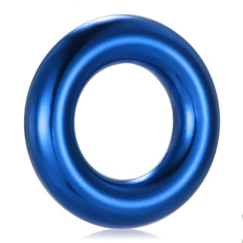 Lixada Outdoor Rappel Ring 22KN Скалолазание Скалолазание Кольцо для приключений Восхождение на альпинизм Оборудование для галтовочного кольца фото