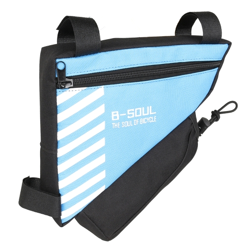Bike Triangle Frame Bag Bike Bolsa de Asiento Trasero Bicycle Tool Bolsa de Almacenamiento Ciclismo Saddle Tail Packs Bike Bolsa de Almacenamiento