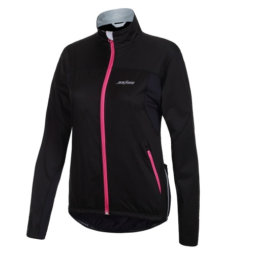 SAHOO Langarm Thermische Barriere Radfahren Jersey Bike Shirt Winddicht Winter Jacke Outdoor-Sportbekleidung für Männer Frauen