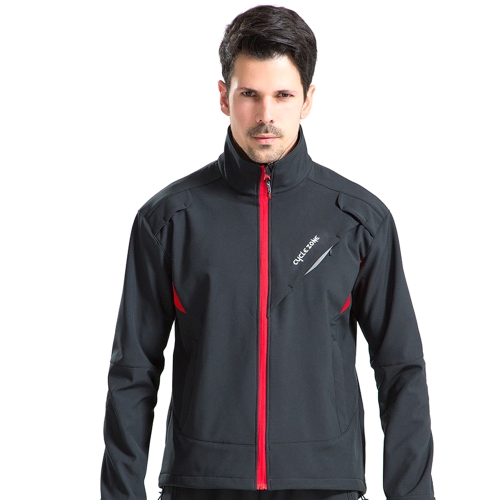 Outdoor Radsportjacken Warmhalte Reitbekleidung Fahrrad Winddicht Fahrrad Langarm-Mantel