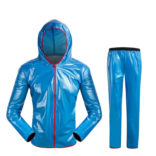 Outdoor Waterproof Bike Rainwear Suits Windproof Cycling Raincoat Men Women Bicycle Wind Rain Coat Clothing Cycling Suit