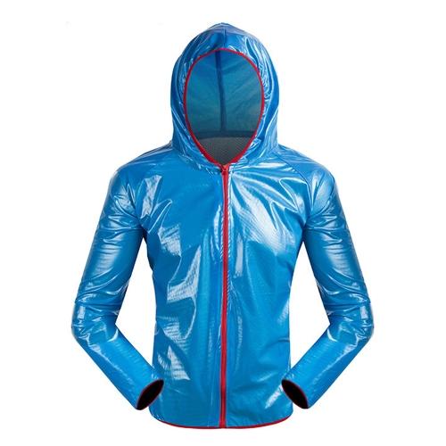 На открытом воздухе Велосипед Дождезащитное пальто Водонепроницаемый Wearable Велоспорт куртка ветрозащитный Комфортная одежда для велосипеда Плащ