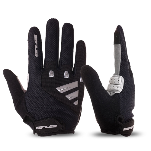 Unisex Gel Padded Touch Screen Full Finger Cycling Gloves MTB Road Bike Bicycle Riding Outdoor Sport Gloves
