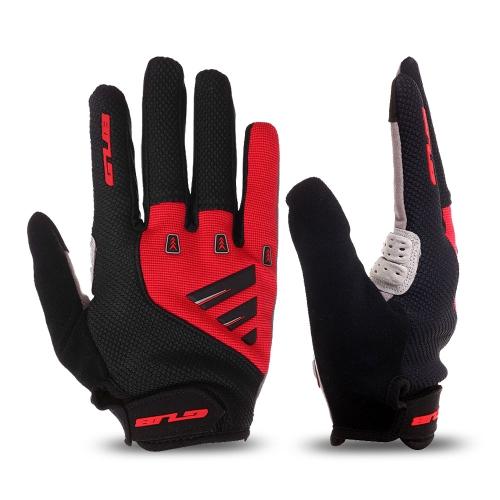 Guanti da ciclismo unisex con imbottitura in gomma per touch screen, guanti da MTB