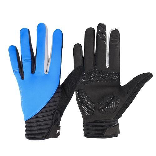 SAHOO Winter Outdoor Vollfinger Winddicht Touchscreen Handschuhe für Männer Frauen