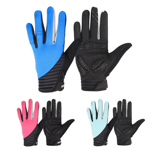 SAHOO Winter Outdoor Full Finger Windproof Touchscreen Cycling Gloves for Men Women