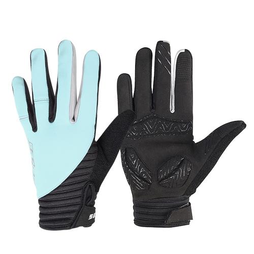 Guanti da ciclismo touchscreen antivento invernali SAHOO Outdoor Full Finger per uomo donna