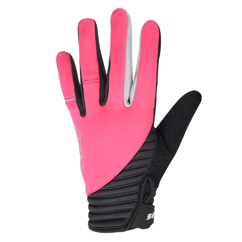 SAHOO Winter Outdoor Full Finger Windproof Touchscreen Cycling Gloves for Men Women Image
