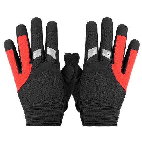 SAHOO Touch Screen Full Finger Cycling Gloves Image
