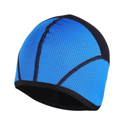 Arsuxeo Windproof Thermal Fleeced Cap Helmet Liner Beanie Cap Hat Outdoor Sport Running Ciclismo Sci