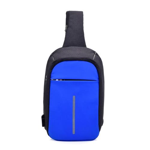 USB Зарядная сумка Sling Bag Pack Плечевой сундук Рюкзак для тела Daypack Велосипед Велоспорт Путешествия Пеший туризм Спортивная сумка