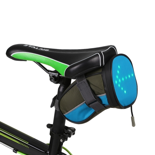 Lixada Легкий USB Bike Seat Bag