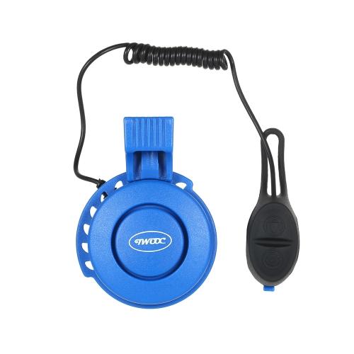 Mini campanello allarme allarme bici bicicletta ciclismo campanello 110-120db USB ad alta potenza ricaricabile sirena elettrica
