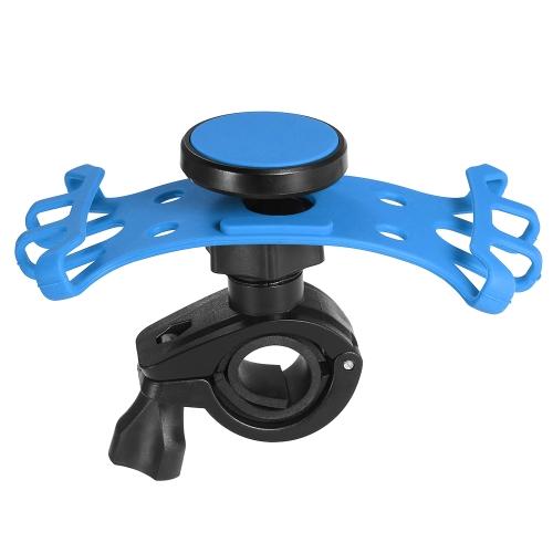 Supporto magnetico per telefono cellulare per manubrio moto bicicletta universale per telefoni cellulari e GPS