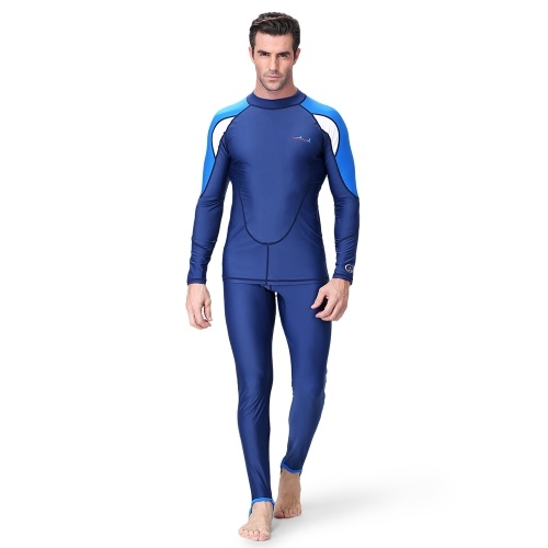 Men s Diving Suit 2 Pieces Set Quick Dry UPF50+ UV Protection Snorkeling  Surfing Swimming Suit Long 477850243