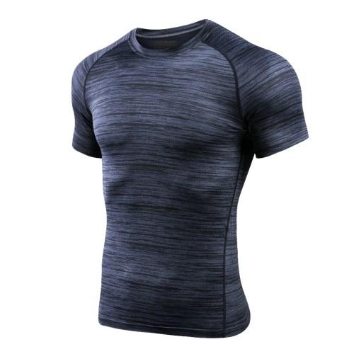 Lixada Männer Athletisch Kompression T-Shirt