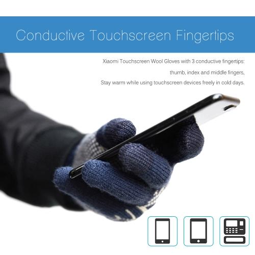 Xiaomi Men's Wool Touch Screen Gloves