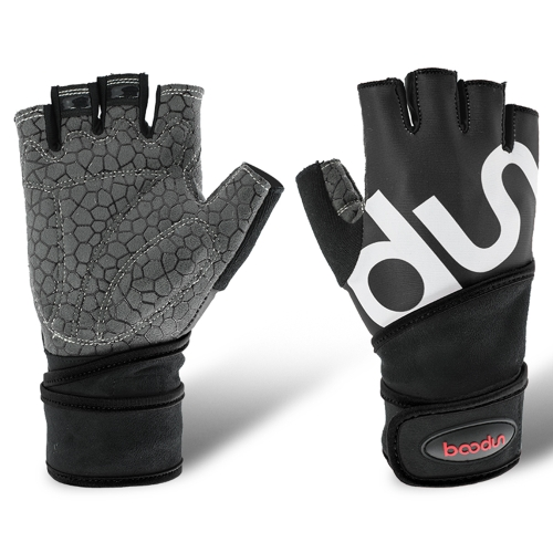 Boodun Multifunktions-Halbfinger-Fitness-Handschuhe