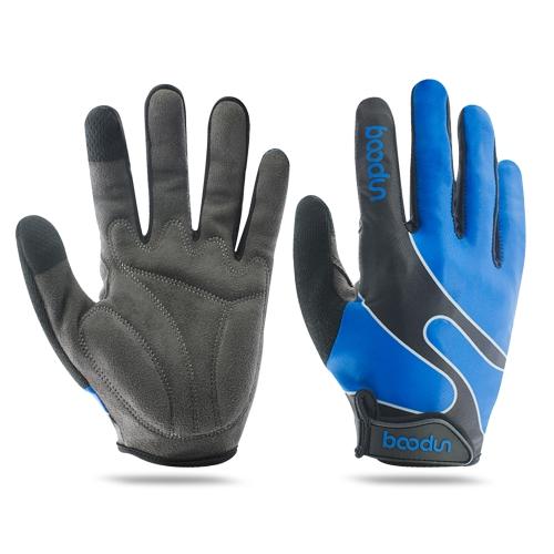 Boodun Full Finger Touchscreen Guantes de ciclismo