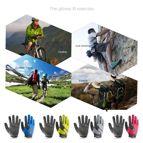 Boodun Full Finger Touchscreen Cycling Gloves Image