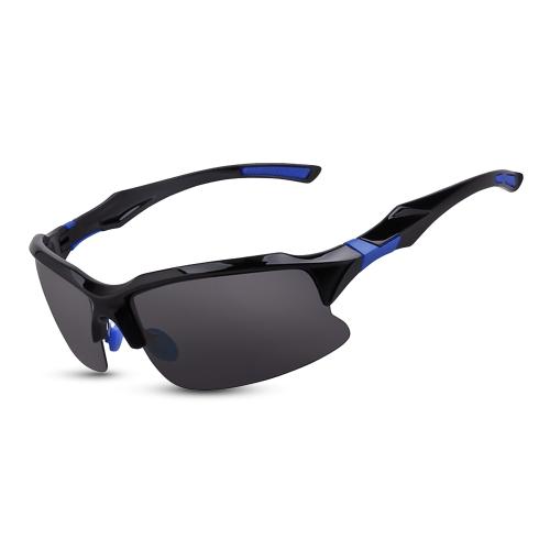 Ciclismo Gafas de ciclismo Gafas de sol deportivas Lente polarizada UV para la pesca Golf Driving Driving Running Gafas