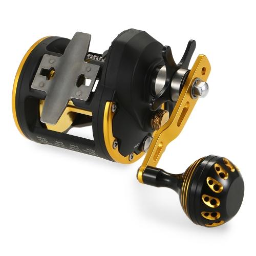 6 + 1 con cuscinetto a sfera Mulinello per pesca a traina con controfaccia a campana