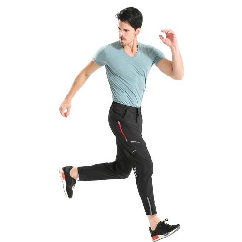 Pantaloni sportivi da ciclismo per uomo Pantaloni sportivi multifunzione per ciclismo Pantaloni lunghi traspiranti Pantaloni da ciclismo ad asciugatura rapida