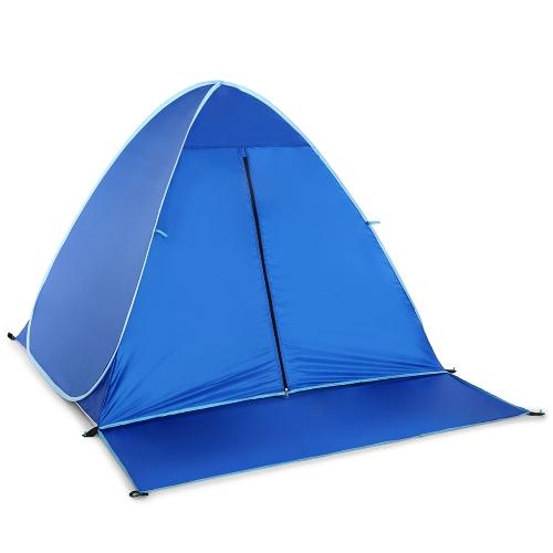 Lixada Automatic Instant Pop Up Beach Tent Легкая защита от ультрафиолетового излучения Солнцезащитный козырек Палатка Cabana фото