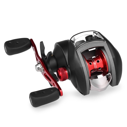 12+1 BB Ball Bearing 8.1:1 Bait Casting Fishing Reel One-way Clutch Baitcasting Reel Left/Right Hand Fishing Reel Magnetic Brake L thumbnail