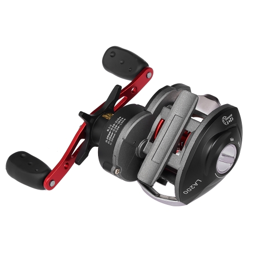 12 + 1 rodamiento de bolitas BB 8.1: 1 Carrete de pesca de cebo Carrete de pesca de una mano Carrete de pesca de izquierda / derecha Carrete de pesca de carrete de pesca Carrete de pesca magnética
