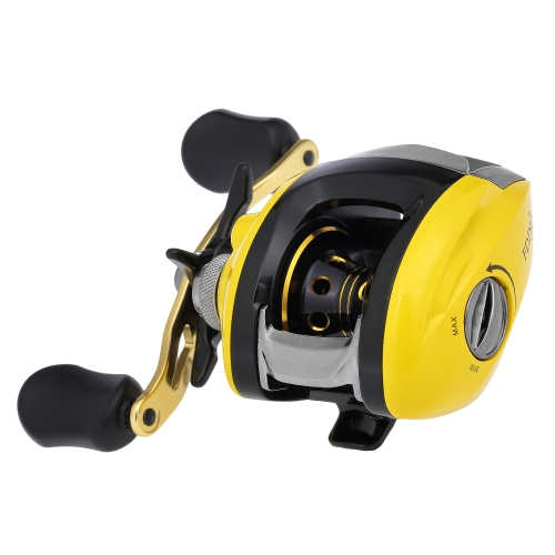 10+1 BB Ball Bearing 6.3:1 Bait Casting Fishing Reel One-way Clutch Baitcasting Reel Left/Right Hand Fishing Reel thumbnail