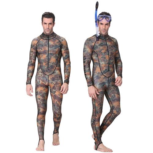 Männer Ganzkörpertauchen Schwimmen Surfen Speerfischen Nassanzug UV Schutz Schnorcheln Surfen Schwimmen Anzug