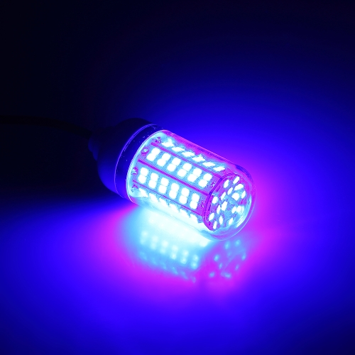 12V 15W Подводная рыбалка Привлекает свет Светодиодная лампа для поиска рыбы Система с 30-футовым шнуром питания и зажимом аккумулятора