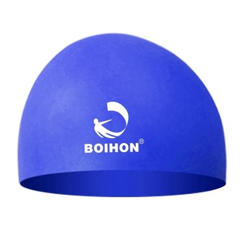 Высокая эластичная силиконовая плавательная крышка Водонепроницаемая удобная уход за волосами Защита ушей Ultra Stretch Swimming Hat