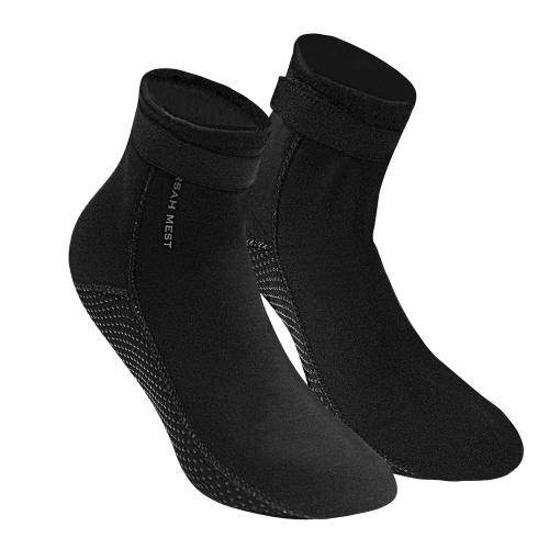 Calcetines de buceo de neopreno de 3.5 mm Botas de agua Zapatos de bota de  playa f07dd95de27