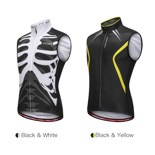 Wosawe Sleeveless Cycling Vest Jersey Breathable MTB Bike Riding Top Sports Jacket for Men and Women Image