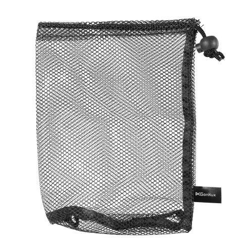 Golf Nylon Drawstring Mesh Sacchetto sacchetto di rete per palline da golf Palline da ping pong che trasportano sacchetto di immagazzinaggio del supporto per 15 palle / 25 palle